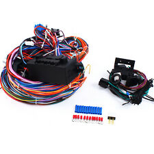 12v Universal 24 Circuit Wire Harness 20 Fuse Street Hot Rat Muscle Rod Wiring