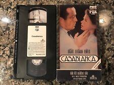 Casablanca Vhs! 1942 Drama! (See) Sabrina The Big Sleep & Key Largo