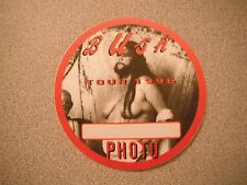 Bush Tour 1996 Photo Red Backstage Concert Pass