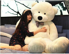 88'' Large White Teddy Bear Stuffed Animals Plush Soft Toys New Gift + EMS SHIP