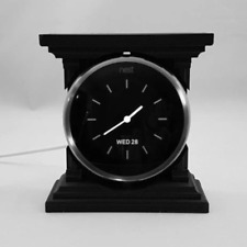 Carriage Clock Nest Thermostat Stand For Portable / Desk Use : Black
