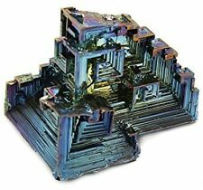 Bismuth Crystal Mineral Specimen (Large) by Geofossils Rocks Collectibles New