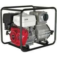 "4"" Intake/Outlet Trash Pump - 11 HP - Honda GX270 Engine - 150 GPM"