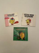 3 Mr Men Little Miss Splendid House Sunshine Wicked Witch Book R Hargreaves New