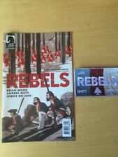 Rebels Ashcan Mini Comic With Embroidered Patch SDCC 2017 Swag