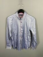 TED BAKER Shirt - Size 3 Medium - Blue - Great Condition - Men's