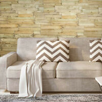 Wallpaper textured brown vintage faux rustic plank barn Distressed wood 3D rolls