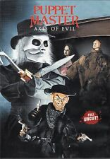 Puppet master: Axis Of Evil - Dvd - Uncut -