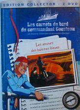 2DVD LES CARNETS DE BORD DU COMMANDANT COUSTEAU - Les amours des baleines bleues