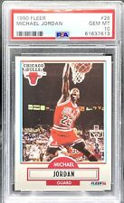1990-91 Fleer Michael Jordan Card #26 PSA 10 GEM MINT!!! HOF GOAT Chicago Bulls