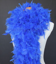 Royal Blue 80 Gram Chandelle Feather Boa Dance Party Halloween Costume