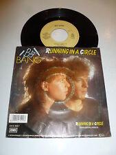 "BIG BANG - Running in a circle - 1987 Dutch 2-track 7"" Vinyl Single"