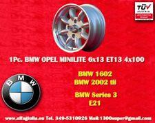 1 Cerchio BMW  VW Minilite 6x13 ET13 4x100 Wheel Felge Llanta Jante TUV