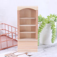 1:12 Dollhouse Miniature Wooden Furniture Room Book Cabinet bookshelf Cabinet YK