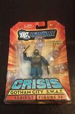"New 2008 DC Universe Crisis Gotham City Swat Figure 3 3/4"" Series 1 Figure 26"