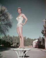 American Actress And Swimmer Esther Williams In A Sequinned Swimsuit OLD PHOTO