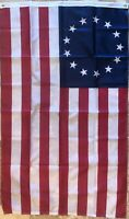 2x3 Betsy Ross USA American 13 Star Flag Banner FAST SHIP 100% U.S.A. Rough Tex