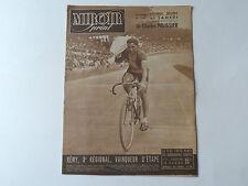 Vintage Rare 1940s «MIROIR-SPRINT» Français Cycling Magazine 5ème Juillet 1948