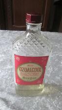 Ancienne bouteille OZOALCOOL pour Lampe Berger Paris année 50 bakélite