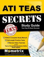 ATI Teas 6 Secrets Study Guide & Practice Tests by MOMETRIX 2017 Book F9