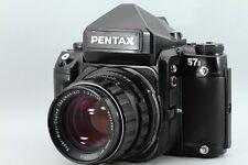 Pentax 67 II 6x7 Body + SMC Takumar 105mm F2.4 Lens Set