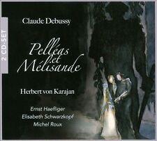 Debussy Pelleas Et Melisande. (Ernst Haefliger Elisabeth Schwarzkopf Michel Roux