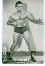 VINTAGE APPROX 3X5 PHOTO OF TONY MARTINO BOXER