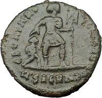 "VALENS ""Last True Roman"" w labarum 364AD Ancient Roman Coin Christ monog i32317"