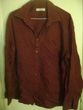 CASENTINO 46 RUST DRESS SHIRT