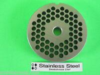 "#22 x 5//16/"" Meat Grinder Plate STAINLESS STEEL fits Hobart Tor-Rey LEM MTN etc"