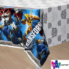 "Transformers Party Supplies TABLE COVER / TABLE CLOTH 54"" x 96"""