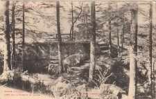 LAJUS roche d'alvine près de la scierie écrite 1915
