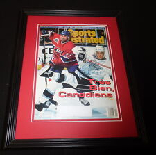 Mathieu Schneider Signed Framed 1993 Sports Illustrated Cover Canadiens