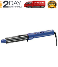 Tangle-Free Professional Hot Air Curl Brush Style Curling Hair 3/4 inch