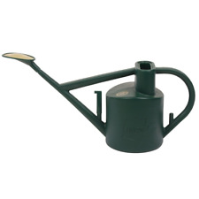 Haws Plastic Outdoor Watering Can, 1.6-Gallon/6-Liter, Green