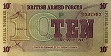 More details for british armed forces_10 pence_radar/mirror number_prefix a_6th series