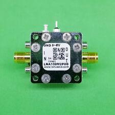 Broadband Ultra Low Noise Amplifier 0.45dB NF 100M~2GHz 20dB Gain 20dBm P1dB SMA