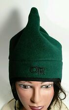 Outdoor Research Green Gore Wind Stopper Snow Ski Warm Hat Beanie Cap Alpine