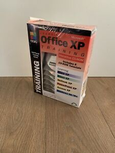 Learning Microsoft Office XP Training Interactive CD ROM New Sealed