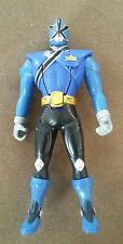 "Mighty Morphin Power Rangers Blue Flip Head 6"" Action Figure ~2010 Bandai"