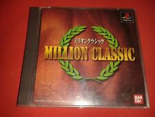 MILLION CLASSIC - SONY PS1 PS2 COMPLET NTSC JAP