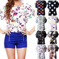 Women Tank Tops Blouse Plus Size Summer Tunic T shirt Loose Casual Print Fashion