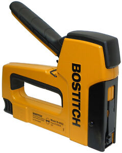 "BOSTITCH T6-6OC2, T6-6 Heavy Duty Stapler Tacker 1/2"", PowerCrown"