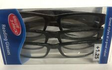Lot of 3 Reading Glasses Kenneth  +1.25 New in Package