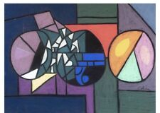 George Colin, Illinois (1929-2014),abstract work, pastel on paper, Signed