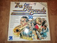 V/A * THE LEGENDARY BIG BANDS * RONCO VINYL LP VERY GOOD 1980 HERMAN BASIE HORNE