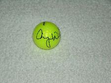 Cheyenne Woods Hand Signed Yellow Srixon Golf Ball Signature Autograph LPGA