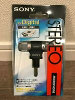 SONY Compact Condenser Stereo Microphone ECM-DS70P For Music Light Weight