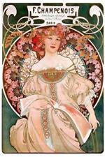 Multi-Colour Art Prints Alphonse Mucha