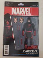 DAREDEVIL #1 (2016) MARVEL COMICS ACTION FIGURE VARIANT COVER 1ST PRINT!